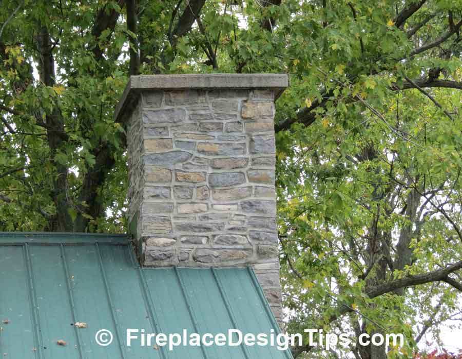 Stone fireplaces 6 impressive stone fireplace pictures for Stone chimneys