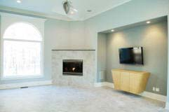 Corner Fireplace Design, Fireplace Designs & Mantels for Room Corners