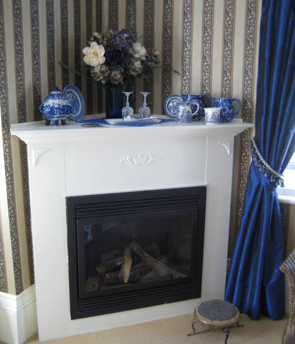 Corner Fireplace Design, Antique Victorian Fireplace Picture