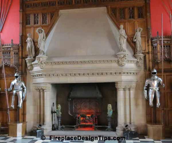 Fireplaces: Edinburgh Castle Fireplace Design