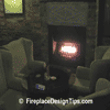 Fireplace Romance Restaurant Idea | FireplaceDesignTips.com