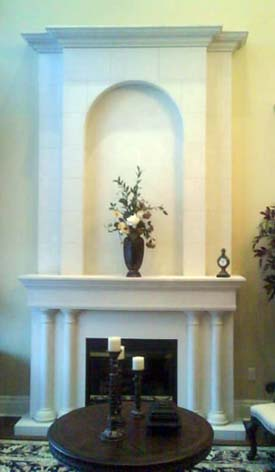 Fireplace Designs Pictures. Limestone Fireplace Designs