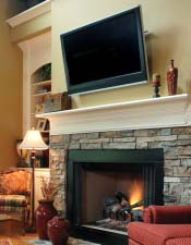 Built In Media TV Fireplace Photos Fireplace Design Tips
